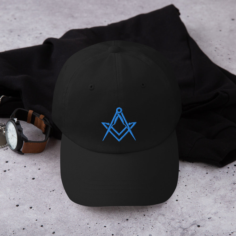 """The Blue Mason"" Dad hat"