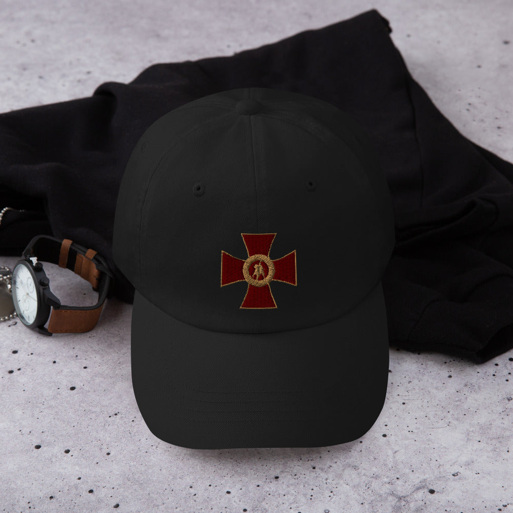 """The Seal of the Soldier of Christ"" Dad hat"