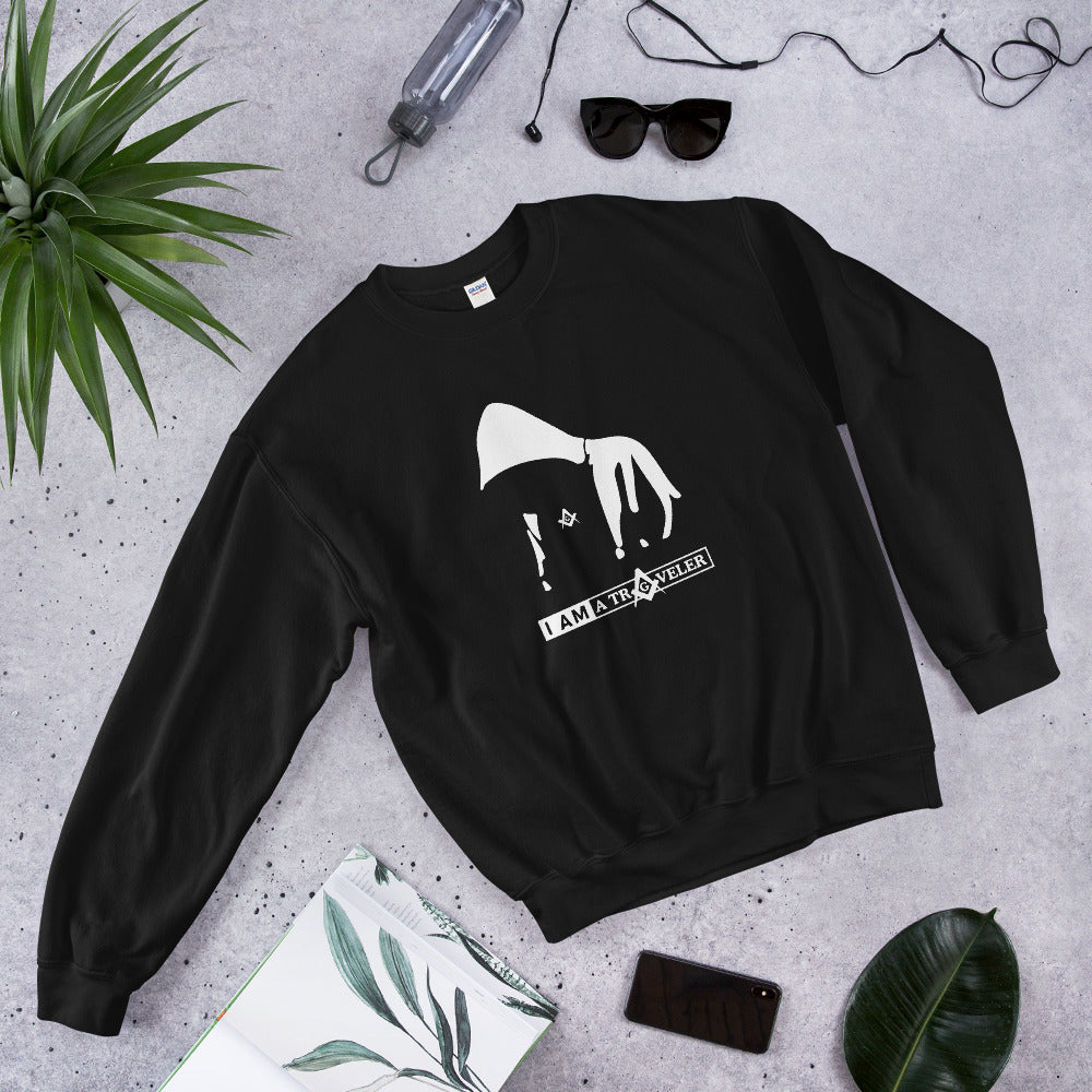 """I am A Traveler"" Unisex Sweatshirt"