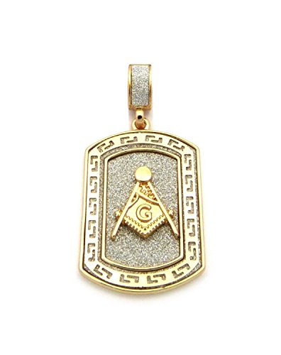 Double Plated Masonic Dog Tag - SolomonsOrder