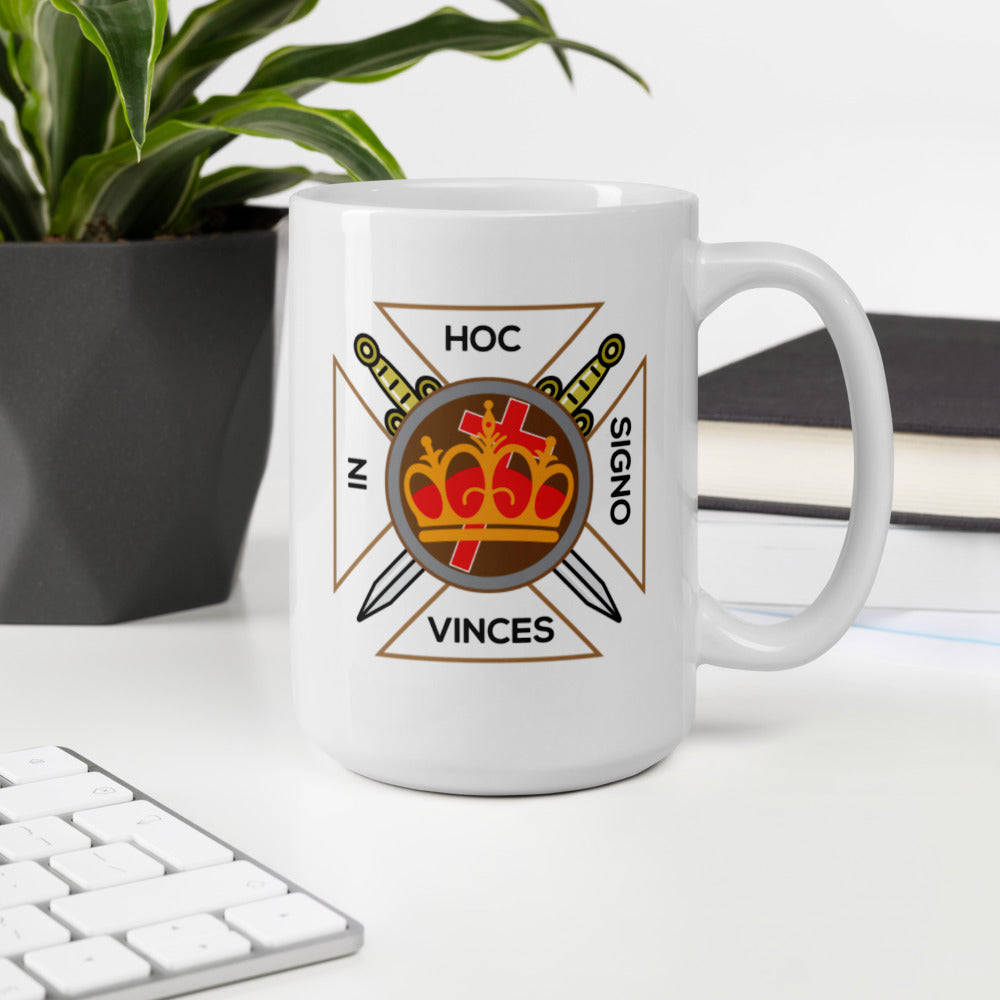 """In Hoc Signo Vinces"" Mug"