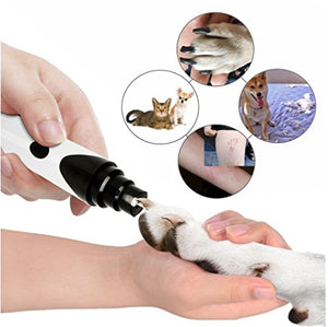 Digitblue Dog Nail Grinder, Portable & Rechargeable Pet Nail Grinder & Nail File Grooming Tools with Low Noise, for Safe Paws Grooming, Trimming & Smoothing for Small & Medium Dogs & Cats