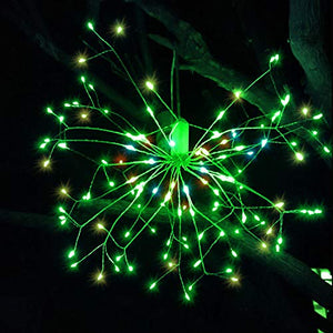40% Off | Fairy Lights | Outdoor String Light | Hanging Starburst Light with 198 Led Micro Lights