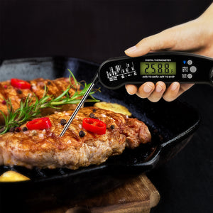 Meat Thermometer |Instant Read Digital Thermometer | Built-in Bottle Opener| BBQ Meat Grill