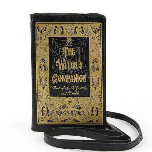 Witch's Companion Book Purse