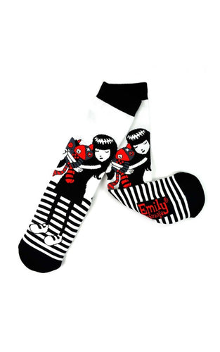 Emily the Strange Cat Lover Socks (Adults)