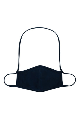 Strapped Black Mask (Kids and Adults)
