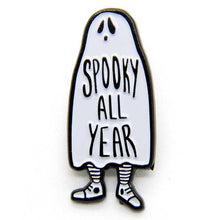 Load image into Gallery viewer, Spooky All Year Enamel Pin