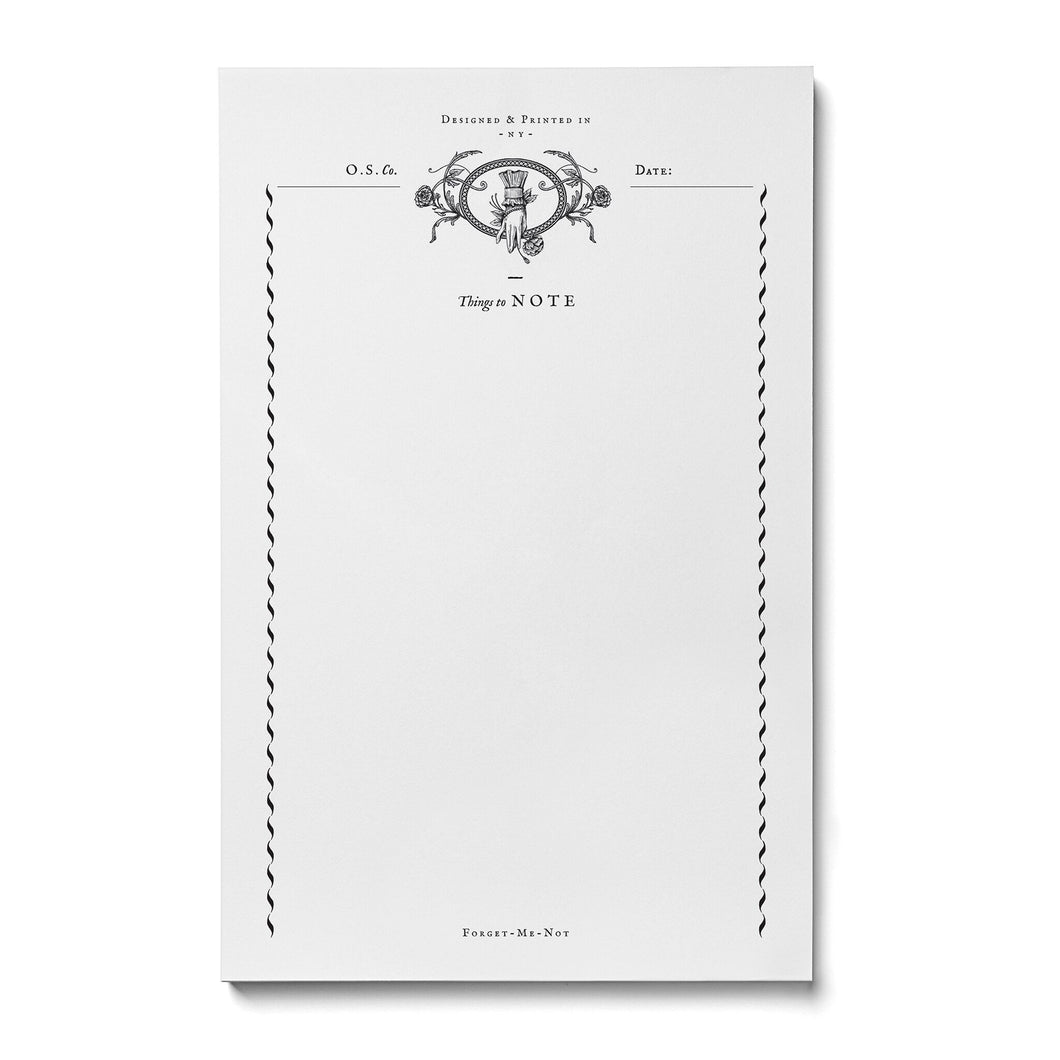Rose Hand Notepad