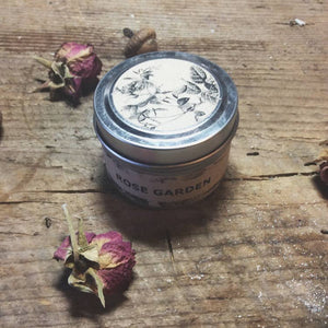 Rose Garden Travel Candle