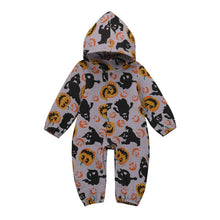 Load image into Gallery viewer, Halloween Hoodie Jumpsuit (Babies/Toddlers)
