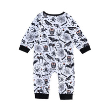 Load image into Gallery viewer, Haunted Ink Jumpsuit (Babies)