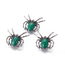 Load image into Gallery viewer, Forest Spider Brooch