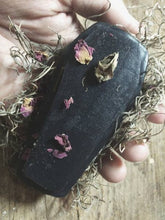 Load image into Gallery viewer, Lavender Coffin Detox Soap