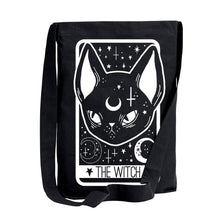 Load image into Gallery viewer, The Witch Tarot Card Sling Shoulder Tote Bag