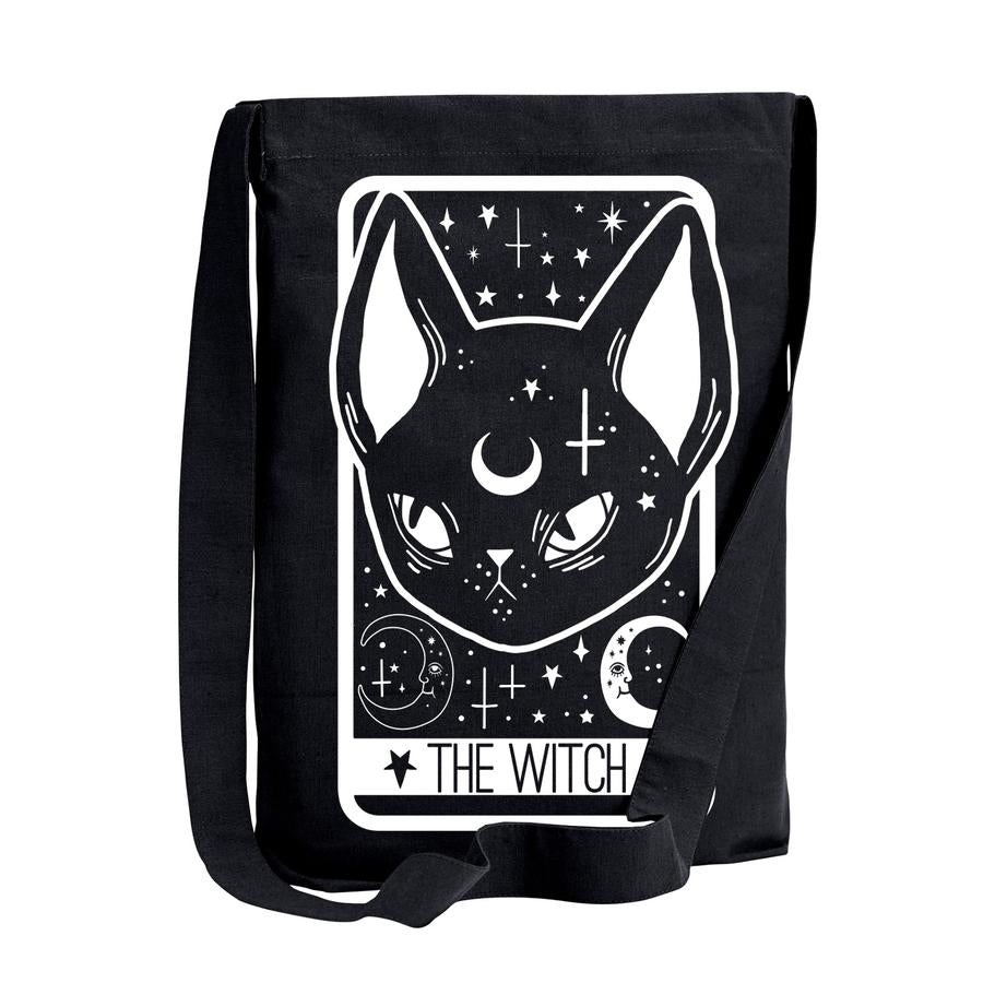 The Witch Tarot Card Sling Shoulder Tote Bag