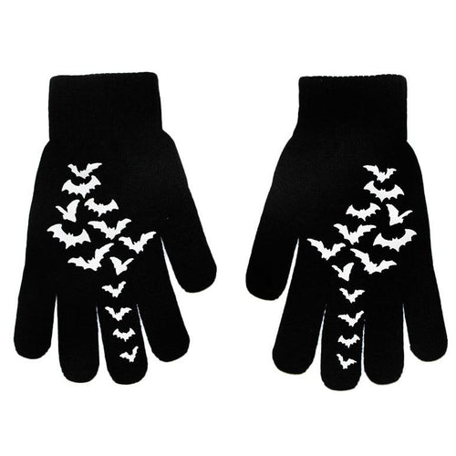 Fly Me Bats Winter Gloves (Adults)