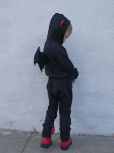 Lil' Devil Jogger Set Costume (Toddlers/Kids)