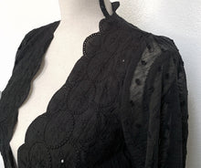 Load image into Gallery viewer, Seance Robe Cardigan in Black (Adults)