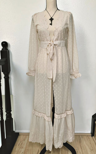 Seance Robe Cardigan in Cream (Adults)