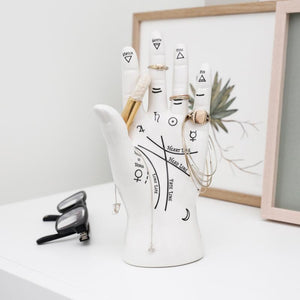 Palm Reader Jewelry Stand