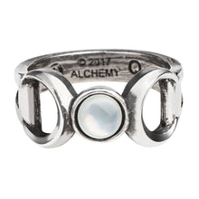 Load image into Gallery viewer, Triple Goddess Ring