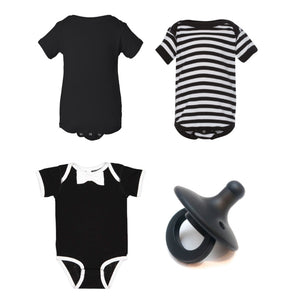 Goth Mother Mini Layette Box (Striped)