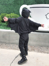 Load image into Gallery viewer, Batty Jogger Set Costume (Babies/Toddlers/Kids)