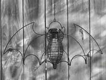 Load image into Gallery viewer, Garden Bat Hanging Solar Light