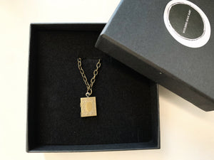 Bibliophile Necklace