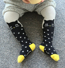Load image into Gallery viewer, Black Cat Tights (Babies/Kids)