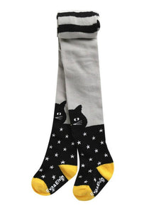 Black Cat Tights (Babies/Kids)