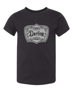 Victoriana Darling T-Shirt (Babies/Toddlers/Kids)