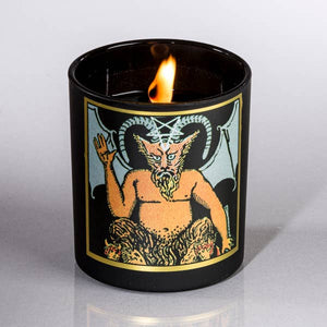 Devil Tarot Candle
