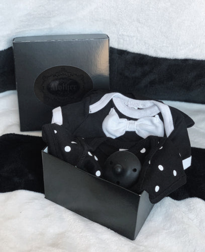 Goth Mother Mini Layette Box (Dots)