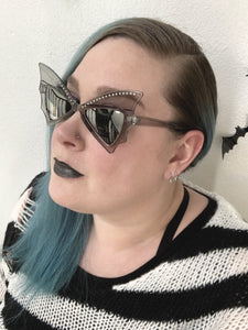 Gray Bat Bae Sunglasses