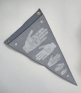 My Own Hands Pennant Flag