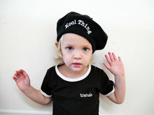 Load image into Gallery viewer, Weirdo Embroidered Ringer Dress (Toddler/Kids)