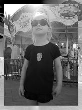 Load image into Gallery viewer, Geometric Skull T-Shirt (Toddlers/Kids)