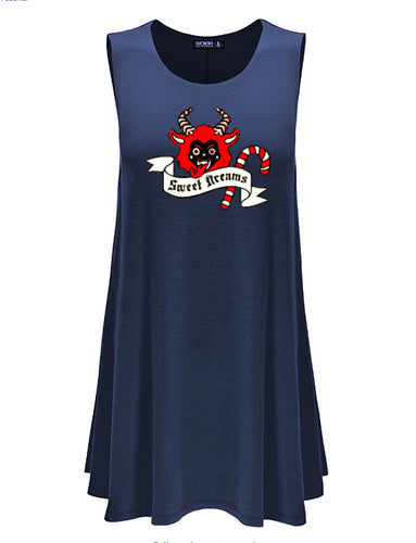 SAMPLE SALE! Merry Krampus Nightgown Dress (Adults)
