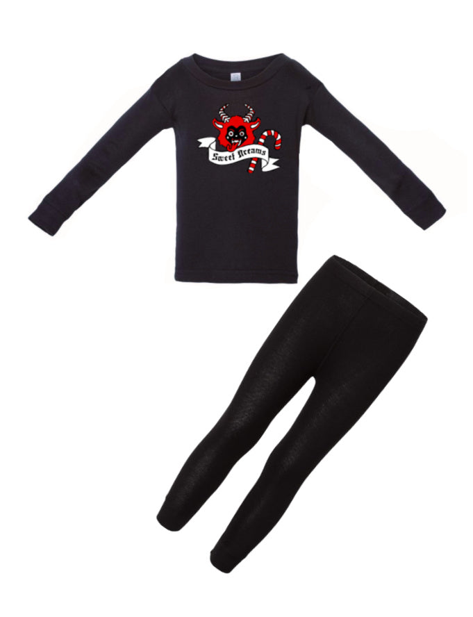 Merry Krampus PJs (Baby/Toddler/Kids)