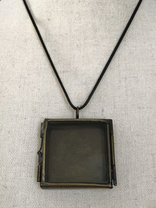 Shadow Box Necklace