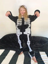 Load image into Gallery viewer, *FACTORY ERROR* Skeleton Costume (Kids)