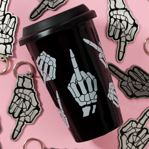 No Bones Travel Mug