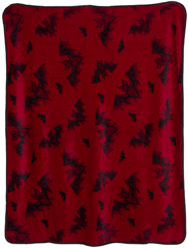 Bat Attack Fleece Blanket