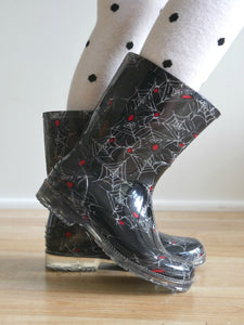 Spider Rain Boots (Baby/Toddler)