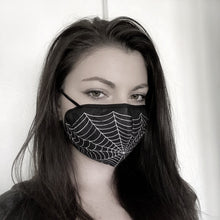 Load image into Gallery viewer, Spiderweb Mask (Adults)