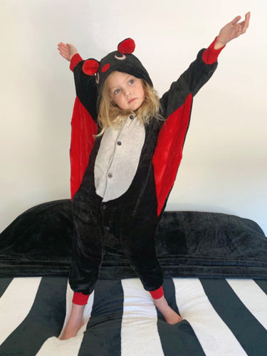 *FACTORY ERROR and Missing Tooth* Vampire Bat Costume (Kids)