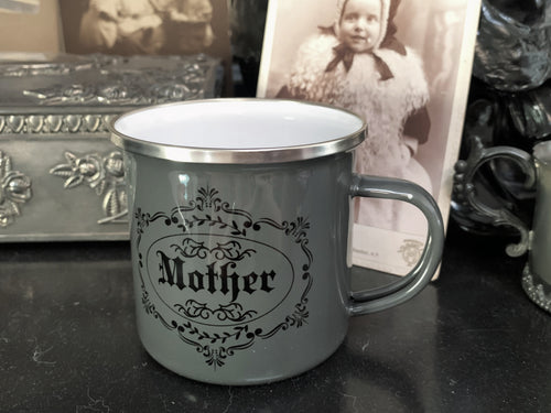 Victoriana Mother Enamel Mug