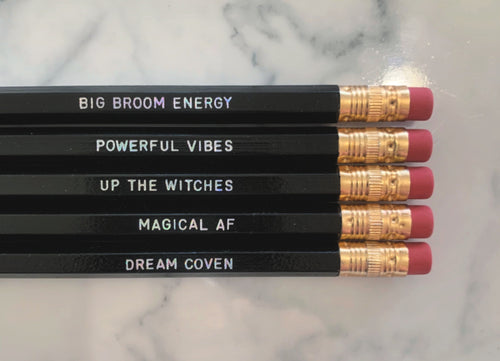 Witchy Pencil Set